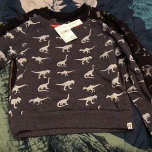 Lot of 2 boys Sovereign Code Sweatshirts